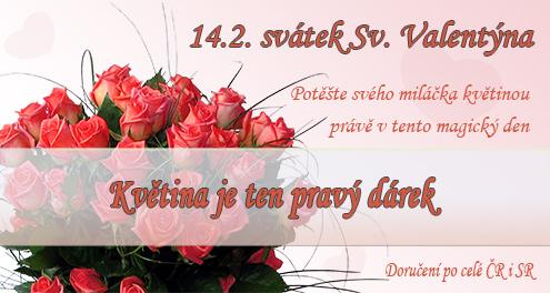 Valentýnské kytice